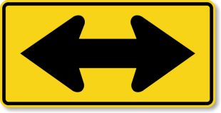wordpress__two-direction-arrow-sign